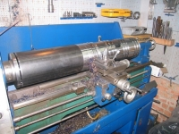 Lathe-Turned Large Tube