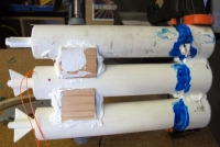 PVC Pipe Battery Pack