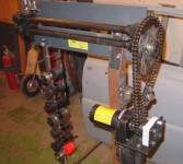 Modified Harbor Freight Bead Roller