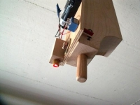 Ceiling Mount for a Laser Sight