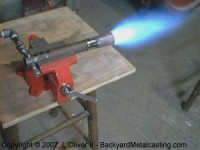 Instant On-Off Propane Forge