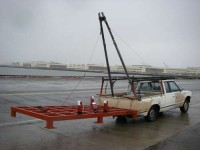 A-Frame Boom for Vehicle