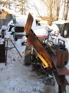 Homemade Log Lift For Splitter Homemadetools Net