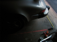 Laser Liner for Wheel Alignment