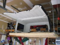 Hardtop Hoist and Storage System