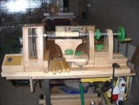 Modular Woodworking Lathe