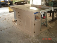 Table Saw Storage