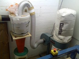 Homemade Cyclone Dust Extractor