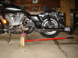 Harley Davidson Touring How To Replace Shocks And Shock