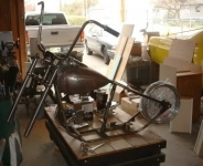 Motorcycle Assembly Table