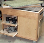 Sanding and Assembly Cart