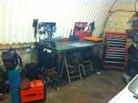 Steel Welding Bench