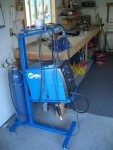 Square Tube Welding Cart