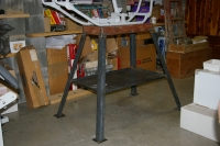 Motorcycle Frame Table