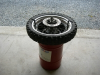 Motorcycle Tire Changing Stand