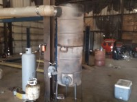 Propane-Fired Waste Oil Burner