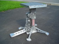 Heavy-Duty Motorcycle Stand