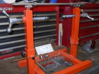 Motorcycle Wheel Truing Stand and Balancer