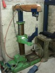 Drill Stand Planishing Hammer