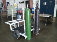 High-Pressure Bottle Cart