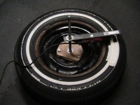 Whitewall Tire Machine