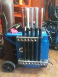 Holder for TIG Filler Rods