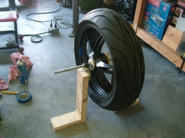 Homemade Motorcycle Wheel Balancer Homemadetools Net
