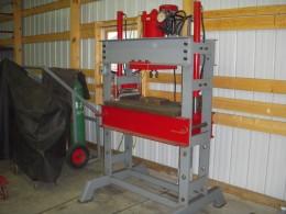 Homemade 60 Ton Shop Press
