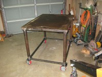Welding Table Renovation