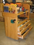 Woodworker's Tool Cart
