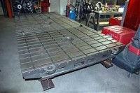 Heavy-Duty Chassis Table