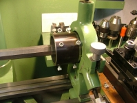 South Bend Steady Rest on a Maximat Lathe