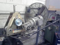 Tube Roller Electric Drive Conversion