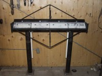 Four Foot Sheetmetal Brake