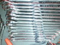 Coil Spring Wrench Organizer