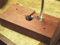 Wood Threading Fixture