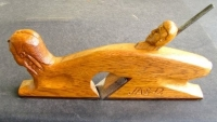 Carved Oak Shoulder Plane
