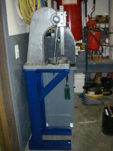Homemade Arbor Press Stand Homemadetools Net