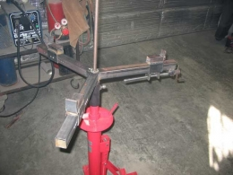 Homemade Motorcycle Tire Changer Homemadetools Net