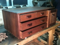 Roubo Workbench Cabinet
