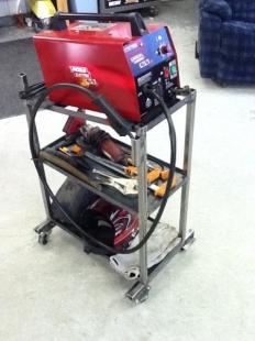 Homemade Welding Cart