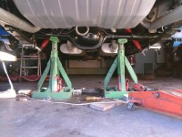 Hydraulic Jack Stands