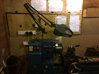 Lathe Light and Magnifier