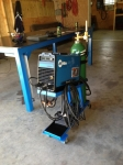 TIG Welding Cart