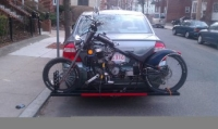 Motorized Bike Carrier