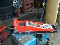 Floor Jack Cradle for Off Road Vehicle