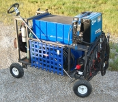 Steerable Welding and Tool Cart