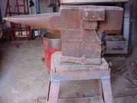 Angle Iron Anvil Stand