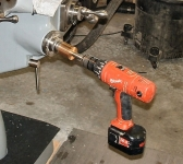 Mill Power Knee Drill Attachment