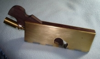 Brass Shoulder Plane